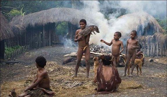 原始女人_非洲原始部落