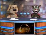 汤姆猫与笨狗搞怪新闻联播